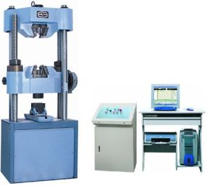 China Servo Hydraulic Universal Testing Machine WAW-300C - China ...
