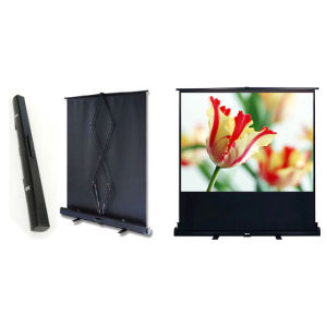 Portable Projector Screen with Floor pictures & photos