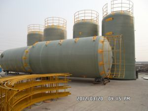 FRP and GRP Vertical Tank for Chemcal Liquid and Water 1kl-180kl
