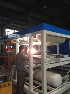 Semi Automatic Plastic Container Thermoforming Machine with Servo Motor pictures & photos