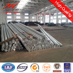 11.88m-462dan Galvanized Steel Poles Utility Pole for Power Distribution Equipment pictures & photos