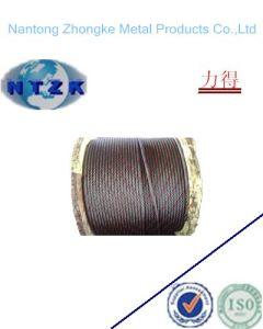 Ungalvanzied and Galvanized No-Rotating Steel Wire Rope with Many Layers pictures & photos