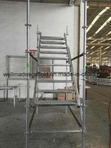 Galvanized Ringlock Scaffolding Stair Access Ring System Scaffold pictures & photos