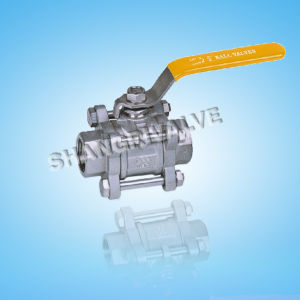 Threaded 3-PC Ball Valve (Type: Q11F)