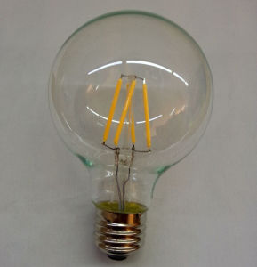 Global LED Bulb G80/G95 Clear/Golden/Frost/Opal Clear Warm White 90ra Ce/UL Approval E27 Bulb