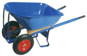 Double Wheel Wheelbarrow (WB8806) pictures & photos