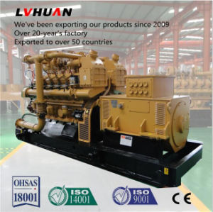 China 500kw Natural Gas Generator Powered by Methane, Biogas LNG, CNG, LPG pictures & photos
