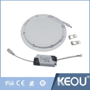 OEM Flush Surface Mounted LED Panel Light 18W 12W pictures & photos
