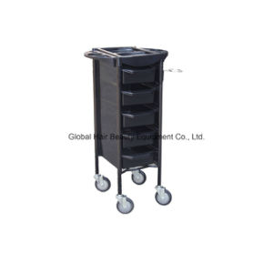 Salon Cart or Hairdressing Trolley for Beauty Hair Salon (HQ-A036) pictures & photos