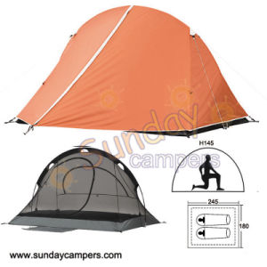 2 Person Mountaineering Tent Tent Model pictures & photos