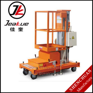 Single Mast Aluminum Alloy Aerial Work Platform for Sale pictures & photos