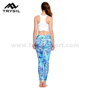 Fashion Yoga Long Leggings Women Sport Long Pants Fitness Wear Compression Gym Pants pictures & photos