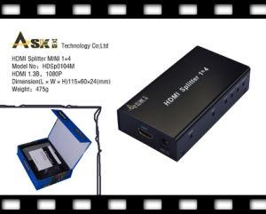 HDMI Splitter 1x4 Mini (Support 3D-Video) (HDSP0104M)