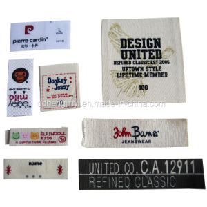 2014 China Cheap Customized High Quality Woven Clothing Label