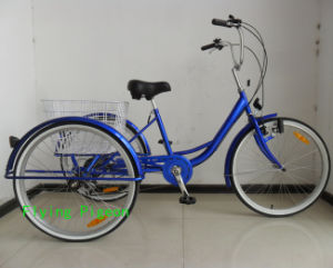 """26"""" Rickshaw Shopping Trike Cargo Tricycle (TRB-040) pictures & photos"""