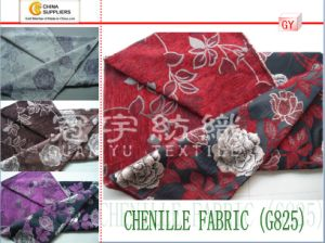 Jacquard Chenille Yarn Dyed Home Textile Fabric pictures & photos