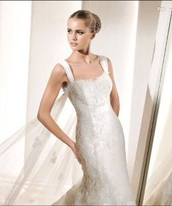 Yayi Brand Strapless, Lace Wedding Dress, 1 MOQ New Bridal Gown (L2030)
