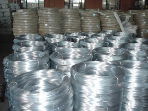 High Quality Hot-Dipped Galvanized Steel Wire with Resonable Price pictures & photos