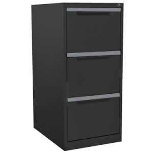 3 Drawer Vertical Metal File Cabinet for Office pictures & photos