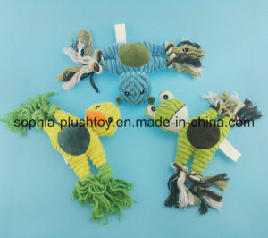 Pet Toy Plush Rope Dog Toy pictures & photos