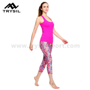 Runing Leggings Women Sport Wear Yoga Pants Fitness Compression Gym Tousers pictures & photos