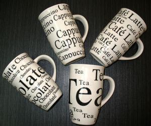 13oz New Bone China Coffee Mug Cup (MUG81101B)