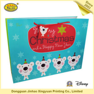Luxury Custom Printed Extra Large Christmas Gift Bags pictures & photos