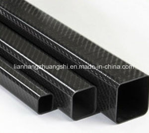 Customized Size Light Weight Carbon Fiber Square Tube pictures & photos