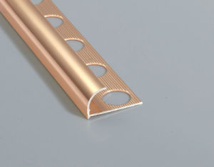 European Standard Shiny Gold Tile Trim pictures & photos
