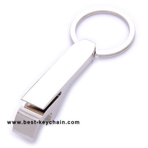 Promotion Metal Keychain with Blank Logo Bottle Opener (BK11184) pictures & photos