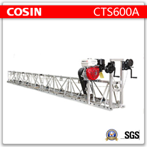 Cts600A Aluminum Alloys Frame Vibratory Truss Screed