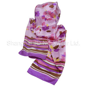 100% Silk Scarf(Screen-Printed) pictures & photos