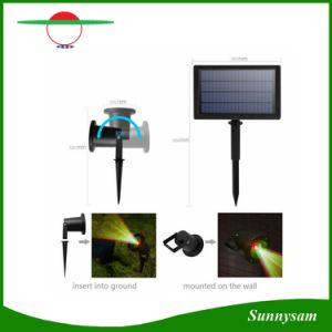 Outdoor Solar Laser Light Landscape Lamp for Garden Yard Christmas Holiday Decoration Waterproof Lamps Spotlight Star Projector pictures & photos