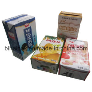 China Bihai Paper Box for Juice and Milk pictures & photos