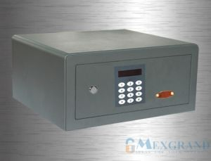 Laser Cutting Electronic Hotel Safe with Motor (EMG250C-2L) pictures & photos