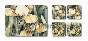 Square Pastoral Printing Cork Mat for Promotion (CC17) pictures & photos