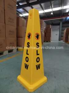 Slow Floor Sign, Traffic Safety Cone for Sale pictures & photos