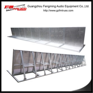 Stable Crowd Barrier System for Outdoor Concert Event Used pictures & photos