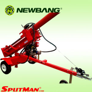 Towable Log Splitter Gasoline 1050mm 42ton pictures & photos