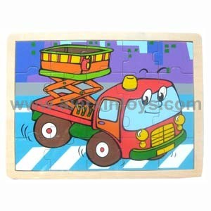 Wooden Puzzle with Different Vehicles (81318 ~ 81323) pictures & photos