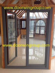 Solid Wood Aluminum French Door pictures & photos