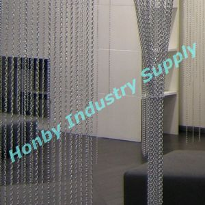 Sivler Colour Double Hook Linked Aluminum Chain Room Divider