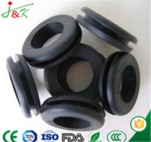 Rubber Grommet for Allowing Pass Through a Metal Plate pictures & photos