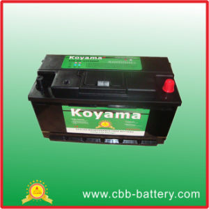 Excellent Quality 12V JIS Standard SMF Automotive Car Battery 90ah pictures & photos