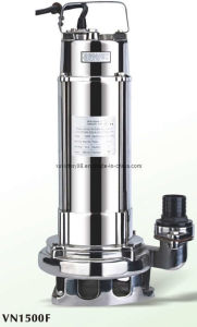 304ss/316L Completely Sewage Submersible Water Pump (VN1500) pictures & photos