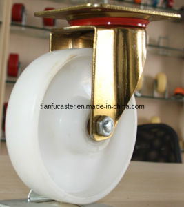 New Style Yellow Zinc Plate PP Industrial Caster (EC-A-100-WEW)