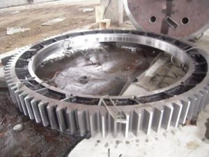 Steel Structure Fabrication Gear Wheel pictures & photos