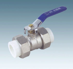 PPR Fitting-Double Union Ball Valve