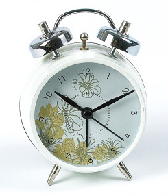 Plastic / Metal Fashion Art Alrm Clock / Clock pictures & photos