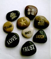 Carved Pebbles